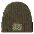 "Cincinnati Bengals New Era 2017 NFL Sideline ""Salute to Service"" Knit Hat"