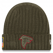 "Atlanta Falcons New Era 2017 NFL Sideline ""Salute to Service"" Knit Hat"