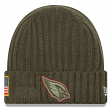 "Arizona Cardinals New Era 2017 NFL Sideline ""Salute to Service"" Knit Hat"