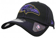 "Baltimore Ravens New Era NFL 39THIRTY ""Shock Stitch Neo"" Black Flex Fit Hat"