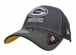 "Green Bay Packers New Era NFL 39THIRTY ""Shadow Burst"" Graphite Flex Fit Hat"