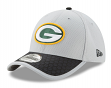 Green Bay Packers New Era NFL 39THIRTY 2017 Sideline Gray Flex Fit Hat