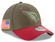 "Arizona Cardinals New Era NFL 39THIRTY 2017 Sideline ""Salute to Service"" Hat"