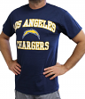 Los Angeles Chargers Majestic NFL Heart & Soul III Men's Navy T-Shirt