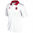 North Carolina State Wolfpack Adidas NCAA 2017 Sideline Coaches White Polo Shirt