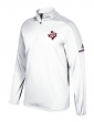 Texas A&M Aggies Adidas NCAA Men's Sideline 1/4 Zip Pullover Wind Shirt - White