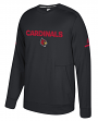 Louisville Cardinals Adidas NCAA Men's Sideline Player Crew Sweatshirt