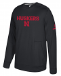 Nebraska Cornhuskers Adidas NCAA Men's Sideline Player Crew Sweatshirt