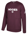 Texas A&M Aggies Adidas NCAA Men's Sideline Player Crew Sweatshirt