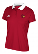 Louisville Cardinals Women's Adidas NCAA 2017 Sideline Climalite Polo Shirt