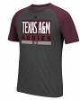 "Texas A&M Aggies Adidas NCAA ""Linear Stack"" Men's Climalite S/S T-Shirt"