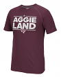 "Texas A&M Aggies Adidas NCAA ""City Nickname"" Men's Climalite S/S T-Shirt"