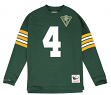 "Brett Favre Green Bay Packers Mitchell & Ness NFL Men's ""Go Long""  L/S Shirt"