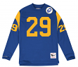 "Eric Dickerson Los Angeles Rams Mitchell & Ness NFL Men's ""Go Long""  L/S Shirt"