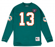 "Dan Marino Miami Dolphins Mitchell & Ness NFL Men's ""Go Long""  L/S Shirt"