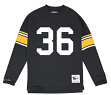 "Jerome Bettis Pittsburgh Steelers Mitchell & Ness NFL Men's ""Go Long""  L/S Shirt"