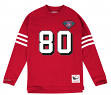 "Jerry Rice San Francisco 49ers Mitchell & Ness NFL Men's ""Go Long""  L/S Shirt"