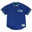 Seattle Seahawks Mitchell & Ness NFL Seasoned Pro 2 Men's Button Up Jersey Shirt