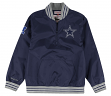 "Dallas Cowboys Mitchell & Ness NFL Men's ""Endzone"" 1/4 Zip Pullover Jacket"