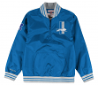 "Detroit Lions Mitchell & Ness NFL Men's ""Endzone"" 1/4 Zip Pullover Jacket"