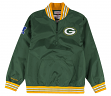 "Green Bay Packers Mitchell & Ness NFL Men's ""Endzone"" 1/4 Zip Pullover Jacket"