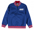 "New York Giants Mitchell & Ness NFL Men's ""Endzone"" 1/4 Zip Pullover Jacket"