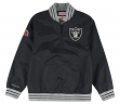 "Oakland Raiders Mitchell & Ness NFL Men's ""Endzone"" 1/4 Zip Pullover Jacket"