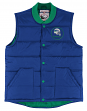 "Seattle Seahawks Mitchell & Ness NFL Men's ""Play Clock"" Throwback Vest Jacket"