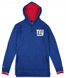 New York Giants Mitchell & Ness NFL Seal The Win Long Sleeve Hooded Men's Shirt