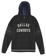 "Dallas Cowboys Mitchell & Ness NFL ""1st Quarter"" Hooded Premium Sweatshirt"