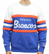 "Denver Broncos Mitchell & Ness NFL ""Head Coach"" Men's Premium Crew Sweatshirt"
