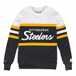 Pittsburgh Steelers Mitchell & Ness NFL Head Coach Men's Premium Crew Sweatshirt