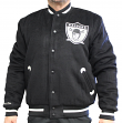 """Oakland Raiders Mitchell & Ness NFL """"In the Stands"""" Premium Varsity Jacket"""