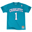 "Muggsy Bogues Charlotte Hornets Mitchell & Ness NBA Men's ""Player"" S/S T-Shirt"
