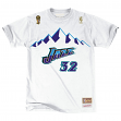 "Karl Malone Utah Jazz Mitchell & Ness NBA Men's ""Player"" S/S T-Shirt"