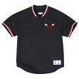 "Chicago Bulls Mitchell & Ness NBA ""Seasoned Pro 2"" Men's Button Up Jersey Shirt"
