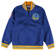 Golden State Warriors Mitchell & Ness NBA Men's Rebound 1/4 Zip Pullover Jacket