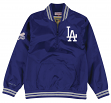 "Los Angeles Dodgers Mitchell & Ness MLB Men's ""Slider"" 1/4 Zip Pullover Jacket"