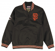 "San Francisco Giants Mitchell & Ness MLB Men's ""Slider"" 1/4 Zip Pullover Jacket"