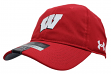 "Wisconsin Badgers Under Armour NCAA 2017 Sideline ""Alloy"" Adjustable Slouch Hat"