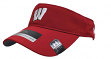 Wisconsin Badgers Under Armour NCAA 2017 Sideline Performance Visor