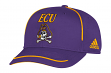 "East Carolina Pirates Adidas NCAA ""Fan Gear"" Structured Adjustable Hat"