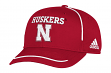 "Nebraska Cornhuskers Adidas NCAA ""Fan Gear"" Structured Adjustable Hat"