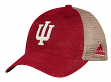 "Indiana Hoosiers Adidas NCAA ""Over Dye"" Adjustable Slouch Mesh Back Hat"