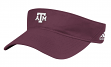 "Texas A&M Aggies Adidas NCAA ""Coaches"" Performance Adjustable Visor"