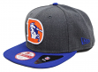 Denver Broncos New Era 9FIFTY NFL Heather Graphite Throwback Snapback Hat