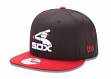 """Chicago White Sox New Era 9FIFTY Cooperstown MLB """"Two Tone"""" Snapback Hat"""