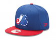 "Montreal Expos New Era 9FIFTY Cooperstown MLB ""Two Tone"" Snapback Hat"