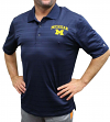 "Michigan Wolverines NCAA Champion ""Heritage"" Men's Performance Polo Shirt"