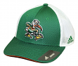 "Miami Hurricanes Adidas NCAA ""Fan Gear"" Structured Meshback Flex Hat"